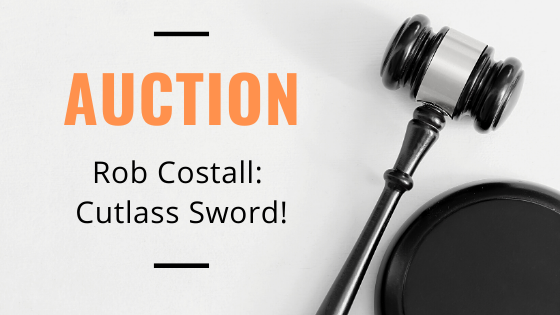 Rob Costall Auctioning His Cutlass Sword!