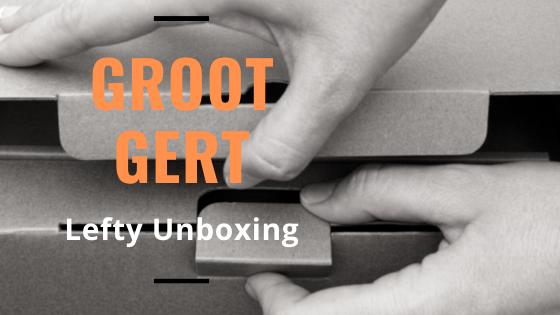 Groot Gert Full Custom Lefty Unboxing